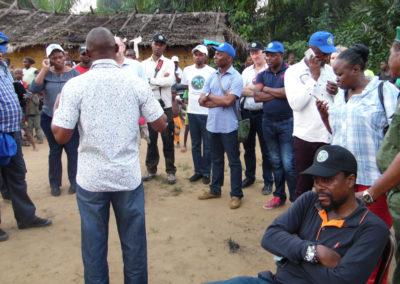 Programme agricole rural de conservation du parc national de la Salonga (PARCCS)
