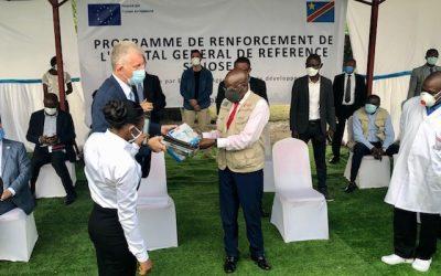 Lutte contre le covid-19 : l'Union européenne appuie l'hôpital général Saint-Joseph de Limete